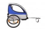 Велоприцеп для перевозки 2-х детей VIC-1303 (BTS 10) Синий-1360