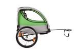 Велоприцеп для перевозки 2-х детей VIC-1303 (BTS 10) Зеленый-0863