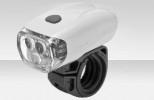 Фонарь передний 3 светодиода, 2 режима, белый JY-566 (К)