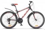 Велосипед 26' хардтейл, рама алюминий STELS NAVIGATOR-630 V черн./серебр./красный, 21 ск., 19,5'