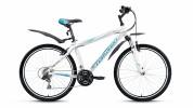 Велосипед FORWARD 26' хардтейл, рама алюминий, APACHE 1.0 белый, 21ск.,21' RBKW8M66Q018