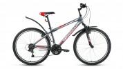 Велосипед FORWARD 26' хардтейл, SPORTING 1.0 серый, 18ск., 17' RBKW6MN6P008