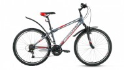 Велосипед FORWARD 26' хардтейл, SPORTING 1.0 серый, 18ск., 19' RBKW6MN6P010