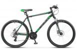 Велосипед 27,5' хардтейл STELS NAVIGATOR-500 MD диск, черный/зеленый