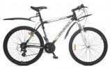 Велосипед MAVERICK 26' хардтейл, рама алюминий, ATICA 1.0 матово серый-черный, 21 ск.