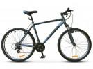 Велосипед 26' хардтейл STELS NAVIGATOR-500 V антрацитовый/синий, 21 ск., 18'