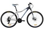Велосипед MAVERICK 27,5' хардтейл, рама алюминий, Diver 3.0 диск, темно-серый/белый, 24 ск., 18'