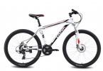 Велосипед 26' хардтейл, рама алюминий MAVERICK Tank X 23 диск, белый-черный, 21ск. (19-З)