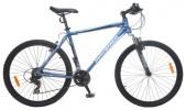 Велосипед 26' хардтейл, рама алюминий MAVERICK Ride 2.0 диск, матово-синий, 21ск.