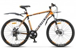 Велосипед 27,5' хардтейл, рама алюминий STELS NAVIGATOR-710 MD диск, черн./оранж./бел., 21 ск., 19'