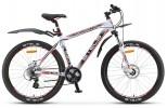 Велосипед 26' хардтейл, рама алюминий STELS NAVIGATOR-830 MD диск, бел./черн./красн., 21 ск., 21,5'