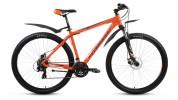 Велосипед FORWARD 29' хардтейл, рама алюминий, APACHE 2.0 disc диск, оранжевый, 21ск., RBKW7M69Q008