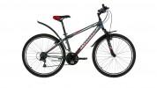 Велосипед FORWARD 26' хардтейл, SPORTING 1.0 серый матовый, 18ск., 15' RBKW8MN6P007
