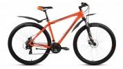 Велосипед FORWARD 29' хардтейл, SPORTING 2.0 disc диск, красный матовый, 21 ск., 21' RBKW7MN9Q009