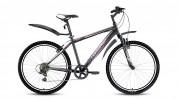 Велосипед FORWARD 26' хардтейл, FLASH 2.0 мат. черный, 6 ск., 15,5' RBKW8MN66016