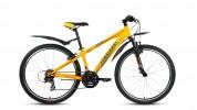Велосипед 26' хардтейл FORWARD FLASH 3.0 мат. желтый, 21 ск., 17' RBKW8MN6Q007