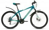 Велосипед 26' хардтейл, рама алюминий FORWARD HARDI 2.0 disc диск, мат.бирюза,21ск.,17' RBKW8M66Q003