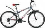 Велосипед FORWARD 26' хардтейл, SPORTING 1.0 серый матовый, 18 ск., 17' RBKW8MN6P009