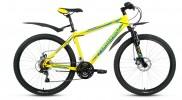 Велосипед FORWARD 26' хардтейл, SPORTING 2.0 disc диск, желтый, 21 ск., 17' RBKW8MN6Q016