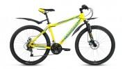 Велосипед 26' хардтейл FORWARD SPORTING 2.0 disc желтый, диск, 21 ск., 19' RBKW8MN6Q018 (19)