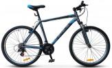 Велосипед 26' хардтейл STELS NAVIGATOR-500 V антрацитовый/синий, 21 ск., 16'