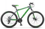 Велосипед 26' хардтейл, рама алюминий STELS NAVIGATOR-510 MD диск, неоновый-зеленый, 21ск., 14'