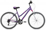 Велосипед 26' хардтейл, рама женская STINGER LATINA фиолетовый, 15' 26 SHV.LATINA.15 VT8