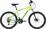 Велосипед STINGER 26' хардтейл, рама алюмий, ELEMENT D диск, зеленый, 21 ск, 16' 26 AHD.ELEMD.16 GN9