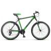 Велосипед 27,5' хардтейл, рама алюминий STELS NAVIGATOR-610 V черный/салатовый, 21ск., 17,5' (19-З)