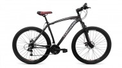 Велосипед FORWARD 29' хардтейл, рама алюминий, KATANA черный/оранжевый, 21 ск., 20,5' RBKW8M69Q021