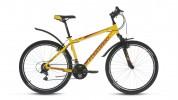 Велосипед 26' хардтейл, рама алюминий FORWARD HARDI 1.0 мат. желтый, 18ск., 17' RBKW7M66P004