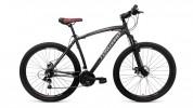Велосипед FORWARD 27,5' хардтейл, рама алюминий, KATANA серый/красный, 21ск., 20,5' RBKW8M67Q003