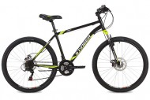 Велосипед 26' хардтейл STINGER CAIMAN D диск, черный, 16' 26 SHD.CAIMAND.16 BK9