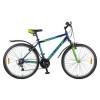Велосипед 26' хардтейл, рама алюминий FOXX ATLANTIC V-brake, синий/зелен., 18ск. 26AHV.ATLAN.18BL8 (