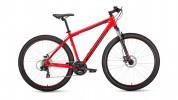 Велосипед 29' хардтейл, рама алюм. FORWARD APACHE 29 2.0 disc крас.\черн. 21ск., 17' RBKW9M69Q006