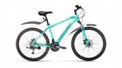 Велосипед 26' хардтейл, рама алюминий FORWARD HARDI 26 2.0 disc мятный, 21ск., 17' RBKW9M66Q011