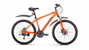 Велосипед 26' хардтейл, рама алюминий FORWARD HARDI 26 2.0 disc оранжевый, 21ск., 17' RBKW9M66Q009