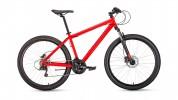 Велосипед 27,5' хардтейл FORWARD SPORTING 27,5 3.0 disc красный, 21 ск., 17' RBKW9MN7Q025