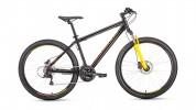 Велосипед 27,5' хардтейл FORWARD SPORTING 27,5 3.0 disc черный\оранжевый, 21 ск., 17' RBKW9MN7Q023