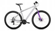 Велосипед 29' хардтейл FORWARD SPORTING 29 2.0 disc диск, серый, 21ск., 17' RBKW9MN9Q006