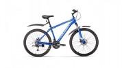 Велосипед 26' хардтейл, рама алюминий FORWARD HARDI 26 2.0 disc синий, 21ск., 17' RBKW9M66Q005