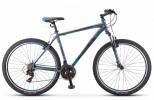 Велосипед 29' хардтейл STELS NAVIGATOR-900 V черный/синий, 21ск., 19'