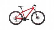 Велосипед 27,5' хардтейл, рама алюминий FORWARD APACHE 27,5 1.0 красн./белый 21ск., 15' RBKW9M67Q010