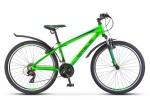Велосипед 26' хардтейл, рама алюминий STELS NAVIGATOR-620 V неон. зеленый/черный, 21ск., 19'