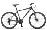 Велосипед 27,5' хардтейл STELS NAVIGATOR-700 MD диск, черный/зеленый, 21 ск., 17,5' V020
