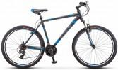 Велосипед 27,5' хардтейл STELS NAVIGATOR-700 V серый/синий, 21 ск., 19' V020