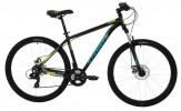 Велосипед 27,5' хардтейл, рама алюминий STINGER ELEMENT Evo диск,черн,21ск.,18' 27AHD.ELEMEVO.18BK90
