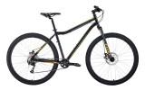 Велосипед 29' хардтейл FORWARD SPORTING 29 X disc черный/золотой, диск, 9 ск., 19' RBKW0MN9X006