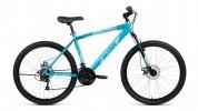 Велосипед 26' хардтейл, рама алюминий ALTAIR AL 26 D бирюзовый, диск, 21 ск., 17' RBKN9M66Q016