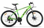 Велосипед 26' хардтейл, рама алюминий STELS NAVIGATOR-640 MD диск, зеленый, 24 ск., 14,5'